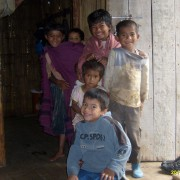 children in peace class rural context