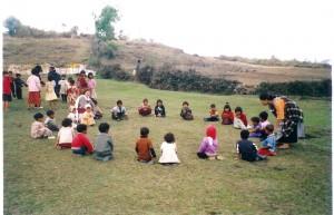 peace class cooperative games-rural