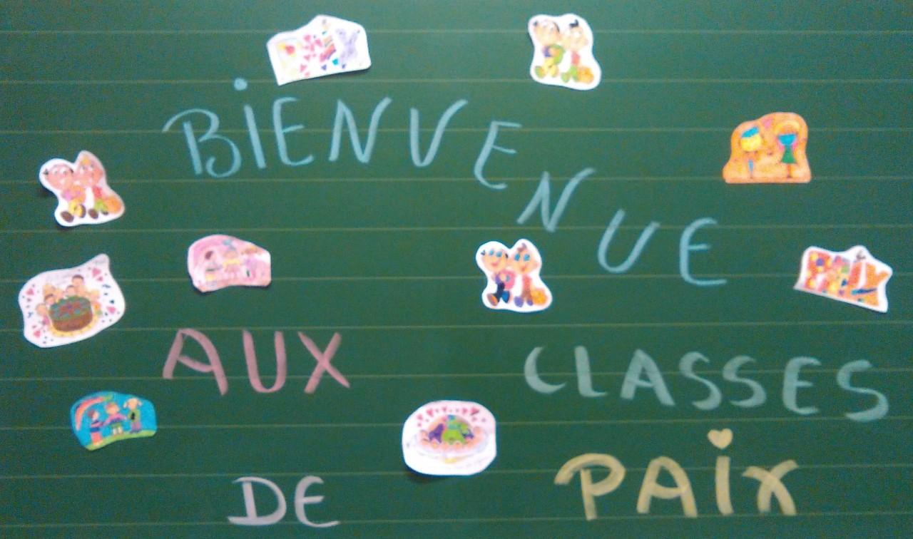 Classe de Paix 2017-2018